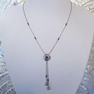QT Quoc Southwest Style Navajo Bolo Necklace